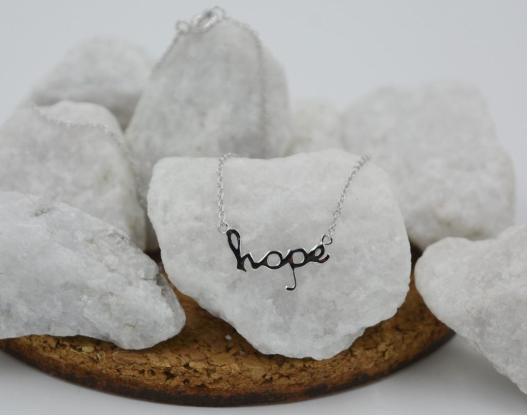 Hope Necklace in Silver