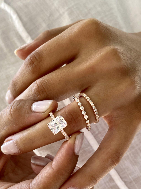 4.50 CTW Wedding Ring Set 1