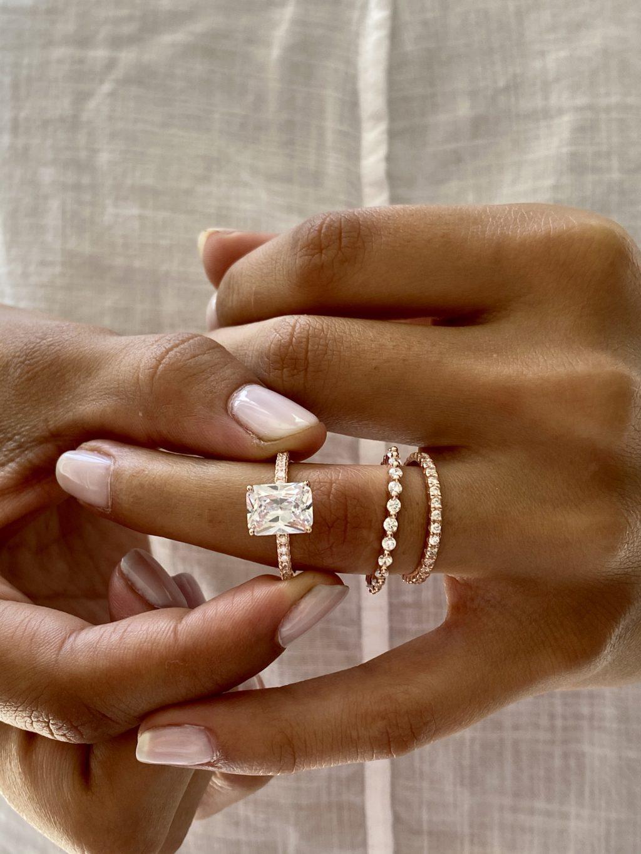 4.50 CTW Wedding Ring Set 3