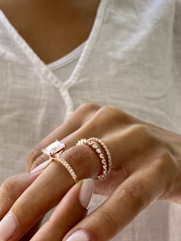 4.50 CTW Wedding Ring Set 2