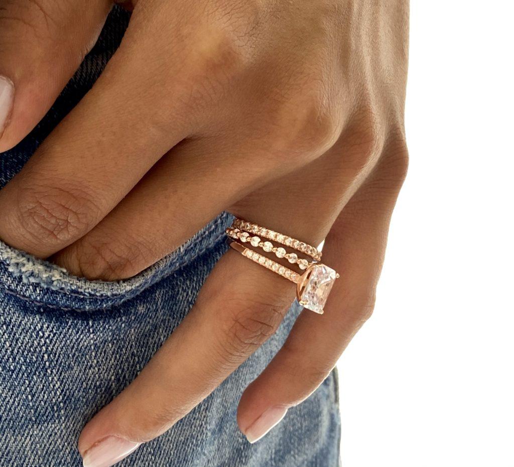 4.50 CTW Wedding Ring Set 4